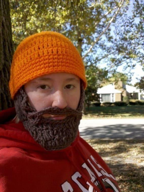 Hunting Gifts for Men Women Dad Boyfriend Him Kids Husband Little Boys, Camping Gift Ideas, Father Son Matching Hats, Beard Beanie Hat