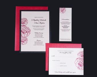 Printable Wedding Invitation Suite