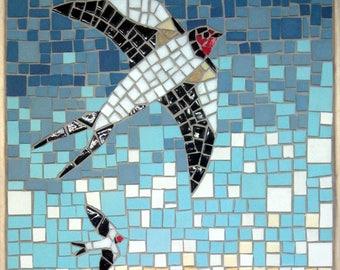 Swallow Mosaic