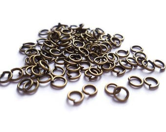 Ring bronze 0.6x4mm x 100