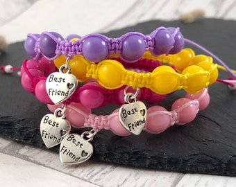 Best Friend Charm Bracelet, Kids Best Friend Bracelet, Kids Charm Bracelet, Best Friend Bracelet, Best Friend Gift, Kids Friend Gift, Bestie