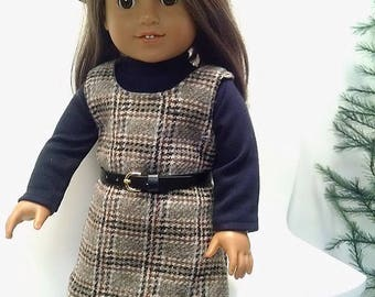 """6 Piece outfit for any 18"""" dolly like the America girl doll."""