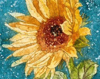 Sunflower Art, Sunflower painting, Watercolor Paintings, Watercolor Painting, Watercolor Prints, Sunflower Prints,
