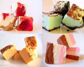 Julie's Fudge EVERY MONTH - 4 Months - 1 pound each month - You Choose Flavors
