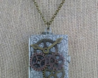 Steampunk Locket Necklace