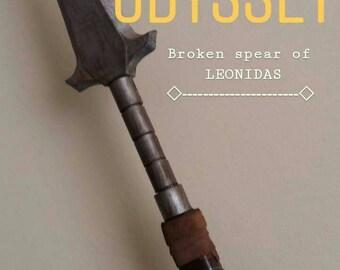 The broken spear of Leonidas