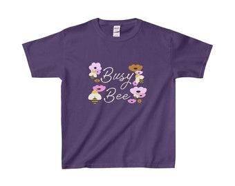 Busy Bee Flowers Kid's Tee