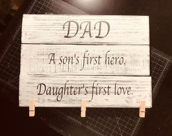 Father's Day picture display