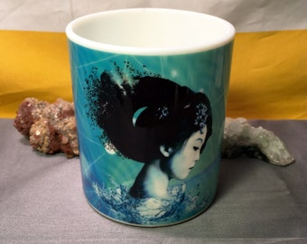 Geisha Ceramic Coffee Mug