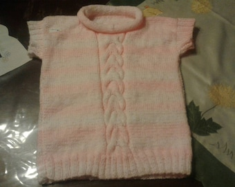 Girl sleeveless sweater