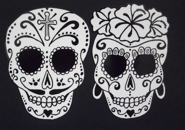 Day Of The Dead Art Catrina Sugar Skull Couple 36 37643 44