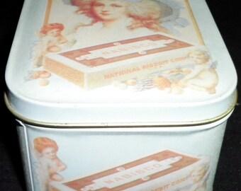 Nabisco National Biscuit Co. Vintage Tin, 1992 (empty)