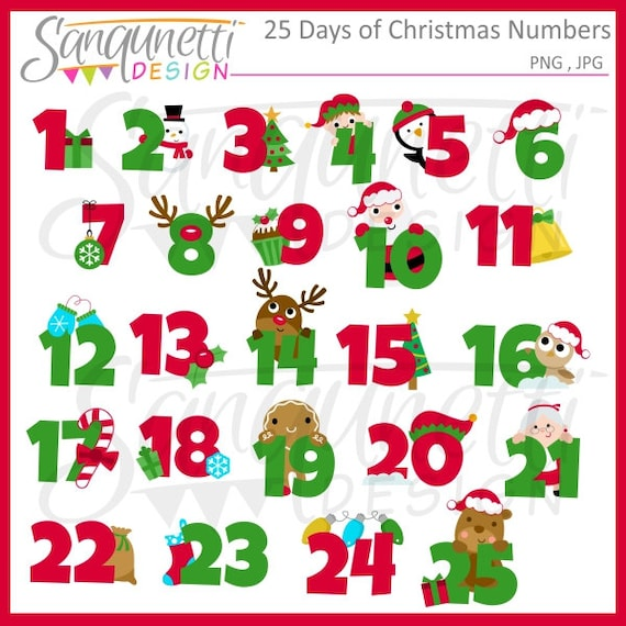 It is a photo of Revered Printable Christmas Numbers