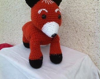 Beautiful Red Fox crochet