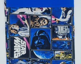 Star Wars pillowcase Luke Skywalker Princess Leia Han Solo Darth Vader nerd geek gift fandom personalized gift bedroom decor pillow cover