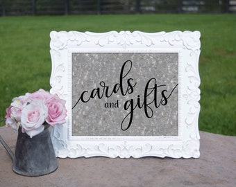 Barn Wedding Cards & Gifts Sign   PRINTED Wedding sign, Cards table Decorations, Galvanized Wedding Signage, Rustic Wedding decorations