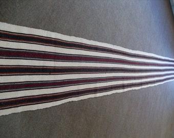 kilim rug free shipping VINTAGE TURKİSH balıkesir runner kilim Anatolian handwoven  decorative kilim - SİZE : 20'' X 160'' ( 50 cm X 410 cm)