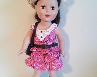 18 Inch Girl Doll Outfit #170 Cowgirl