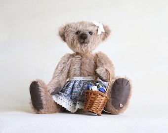 Lucy OOAK collectible mohair teddy bear