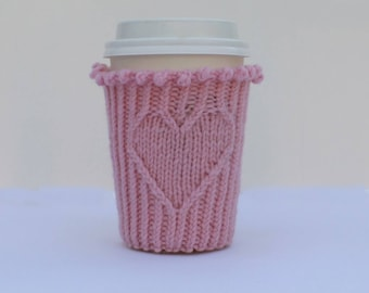 Heart Cappucino Cozy