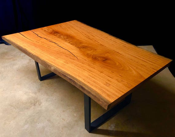 Figured Angelim Pedra Live Edge Wood Slab Dining Table Ready to Ship!