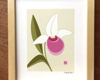 Lady Slipper Art print