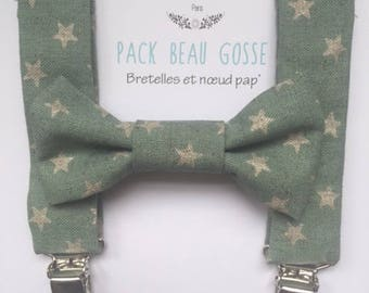Suspenders and bow Pack