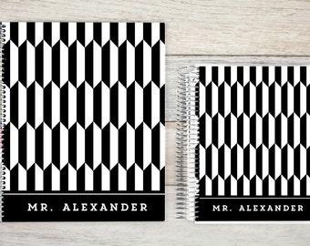 Teacher Planner   teacher calendar planner   2018-2019   lesson planner planners for teachers   personalized teacher planner   tiles