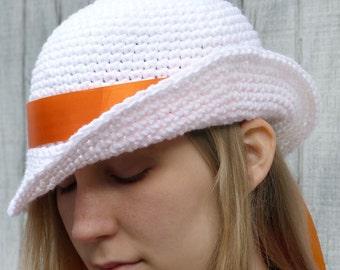 Vintage Glenda Hat - 5 Sizes - PDF Crochet Pattern - Instant Download