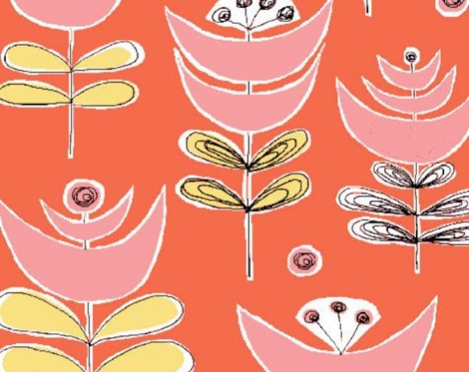 Organic Cotton Fabric - Monaluna Urban Patch - Cut Flowers