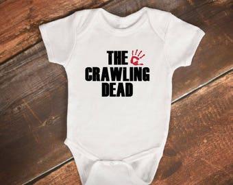 "Baby Bodysuit- ""The Crawling Dead"" - The Walking Dead"