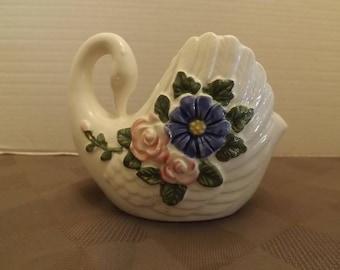 Rubens Originals - Vintage Swan Planter #2392