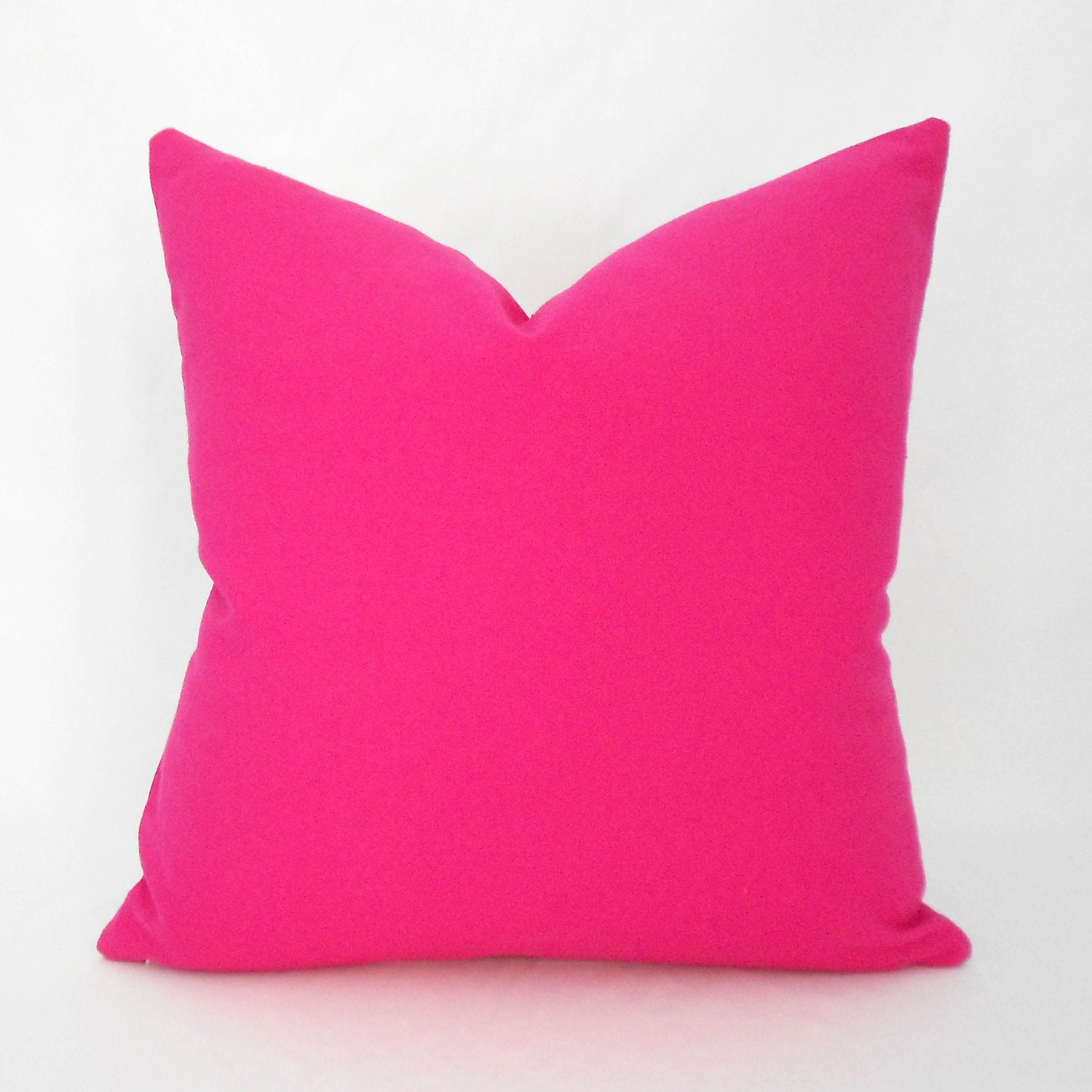 Hot Pink Decorative Pillow Cover Any Size Hot Pink Pillow
