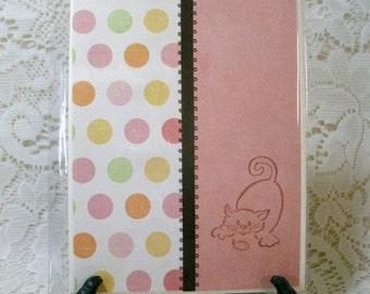 2351: CLEARANCE CARDS. Set of 9 Embossed Kitty Cards. Priced to go!