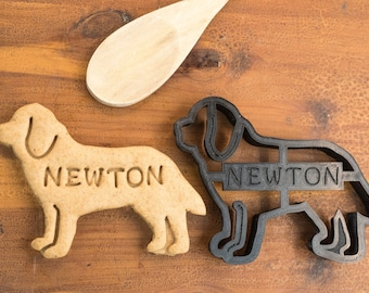 Newfoundland Cookie Cutter Custom Treat Personalized Pet