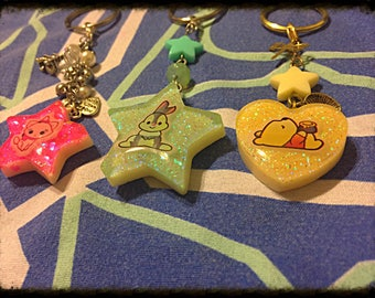 Character key chain 3 styles available