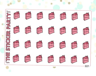 Vic's Secret Planner Stickers Lingerie Planner Stickers