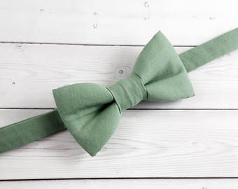 Toddler Bow Tie, Baby Bow Tie, Bow Tie, Boys Bow Tie, Green Bow Tie, Suit Tie, Wedding Bow Tie, Mens Bow Tie, Bowtie, Ring Bearer Bow Tie