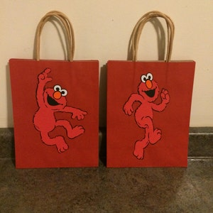 Large Sesame Street Favor Bags ***please read description on how to order