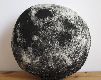 Silkscreen Moon Pillow