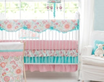 Paisley Crib Rail Cover Set | Gypsy Baby Paisley Collection