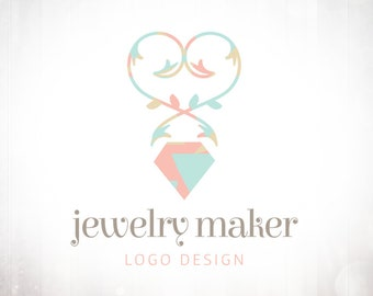 Premade Logo Design • Jewelry Maker