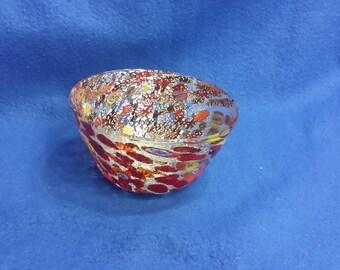 Murano Glass Milleflori Bowl
