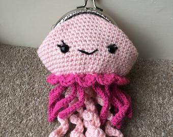 Jellyfish Coin Purse Crochet Pattern