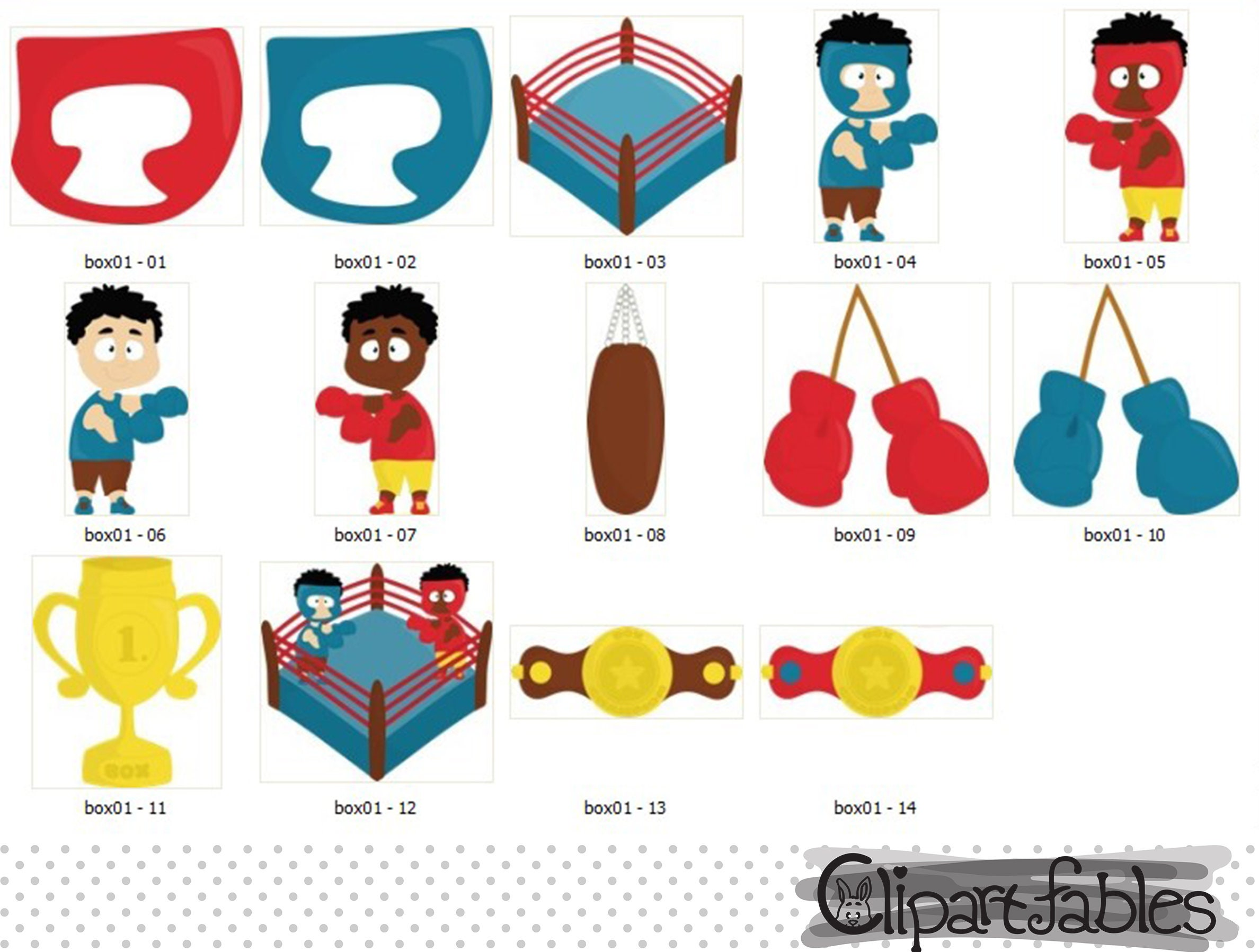 boxing clipart scrapbooking clip art cupcakes toppers boxing rh etsystudio com clipart for digital scrapbooking clipart for digital scrapbooking