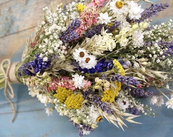 Festival Meadow Dried Flower Bouquet