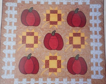 Pumpkin Patch Quilt Pattern - By Robin Graves