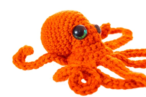 Free Amigurumi Patterns Octopus : Realistic octopus crochet pattern pdf rights free