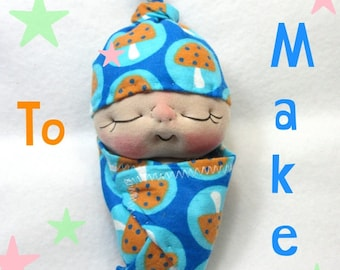PDF Pattern- How to Make a Bundle BeBe Baby Doll by BeBe Babies and Friends