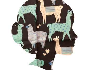 No Prob Llama /Lucy and Mabs Reusable pad or pantyliner / Made to Order